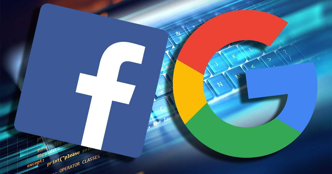 google facebook datos