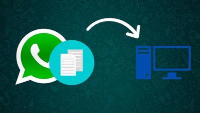 La forma más cómoda de guardar archivos de WhatsApp en PC