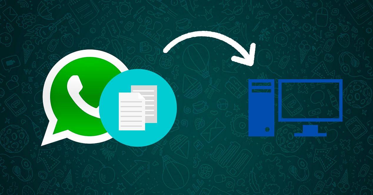 Guardar archivos de WhatApp en PC