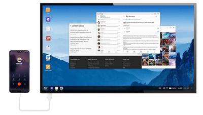 Tanto móvil como ordenador, así es modo PC del Huawei P30 Pro