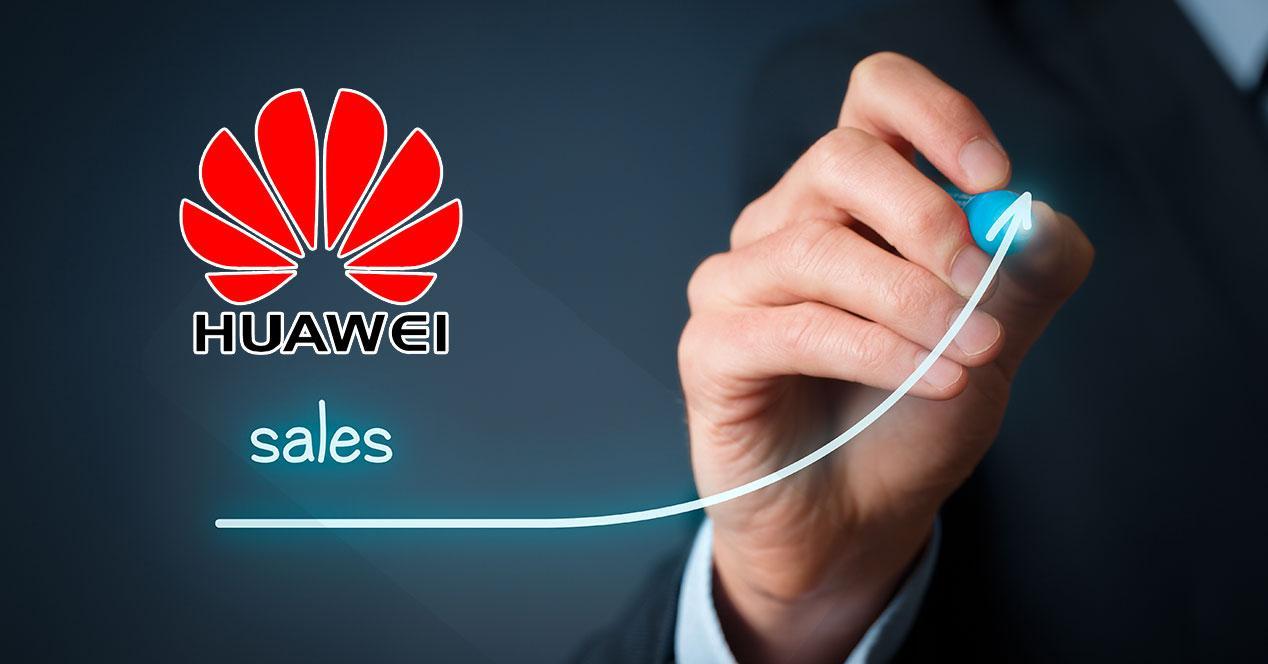 Huawei ventas