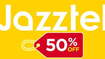 ¡50% de descuento! Jazztel rebaja varias tarifas de fibra y móvil a mitad de precio