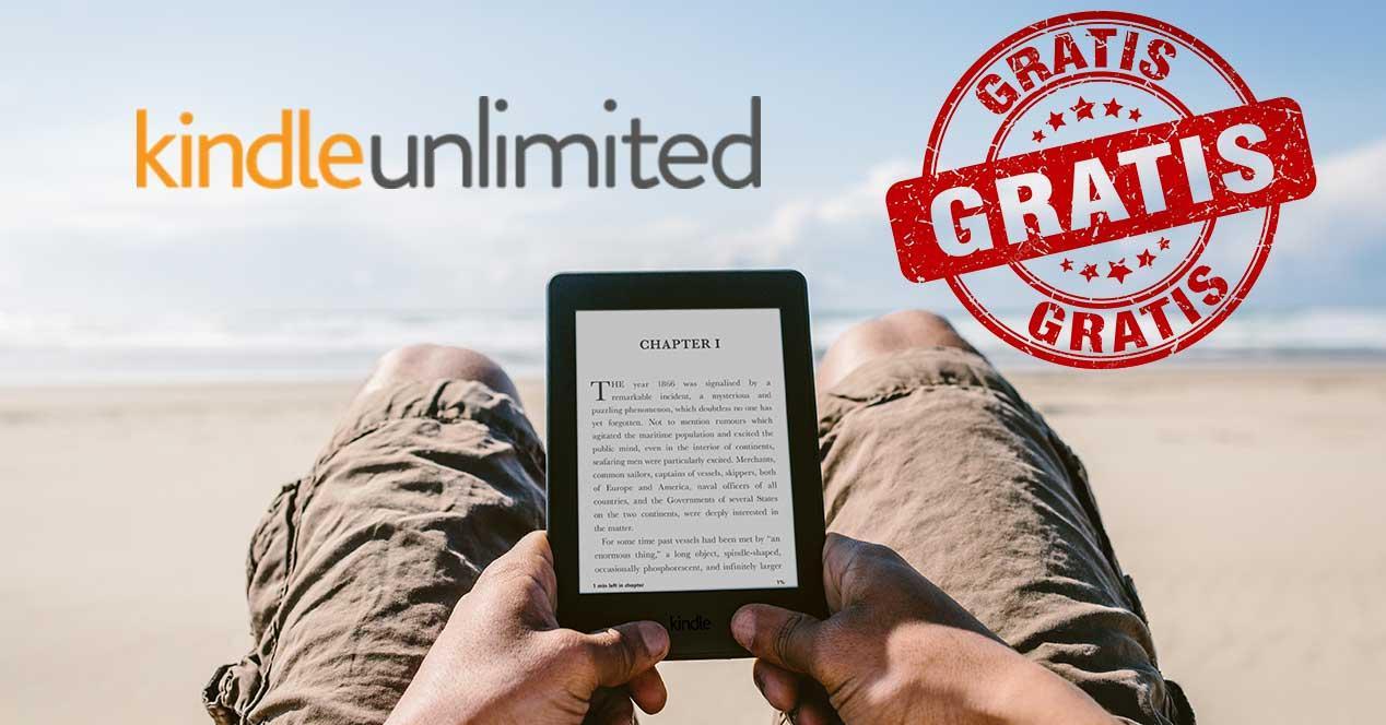 kindle unlimited amazon gratis 3 meses verano