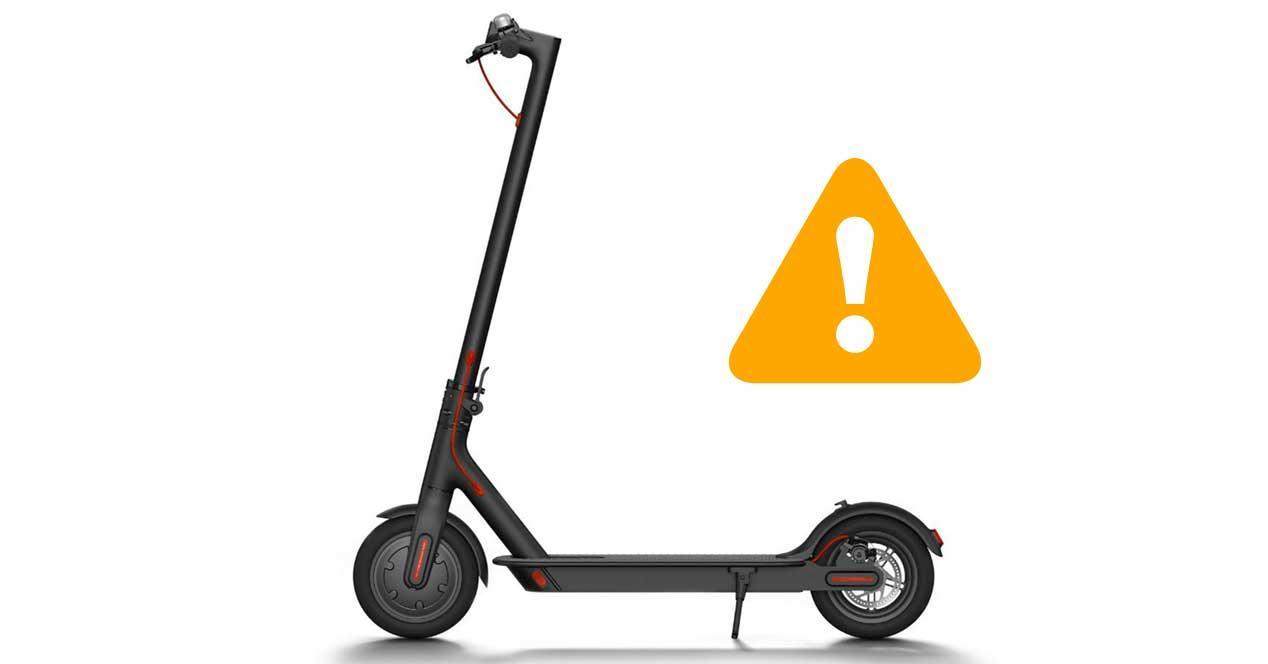 Xiaomi retira algunos patinetes Mi Electric Scooter por un fallo