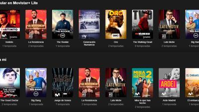 Ya puedes contratar Movistar+ Lite: 8 canales, 2 dispositivos simultáneos y 1 mes gratis
