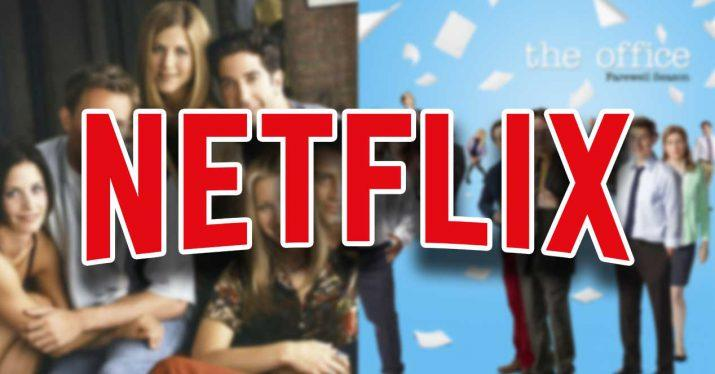 netflix friends the office series