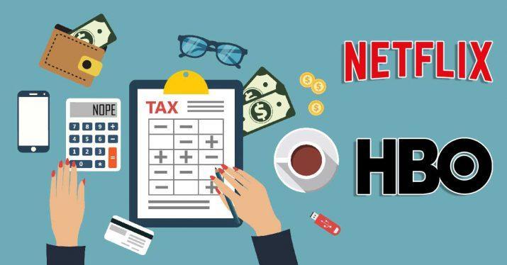 netflix hbo impuestos