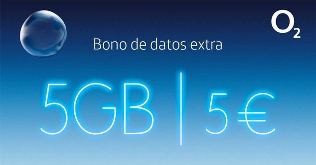 o2 bono extra datos 5 gb