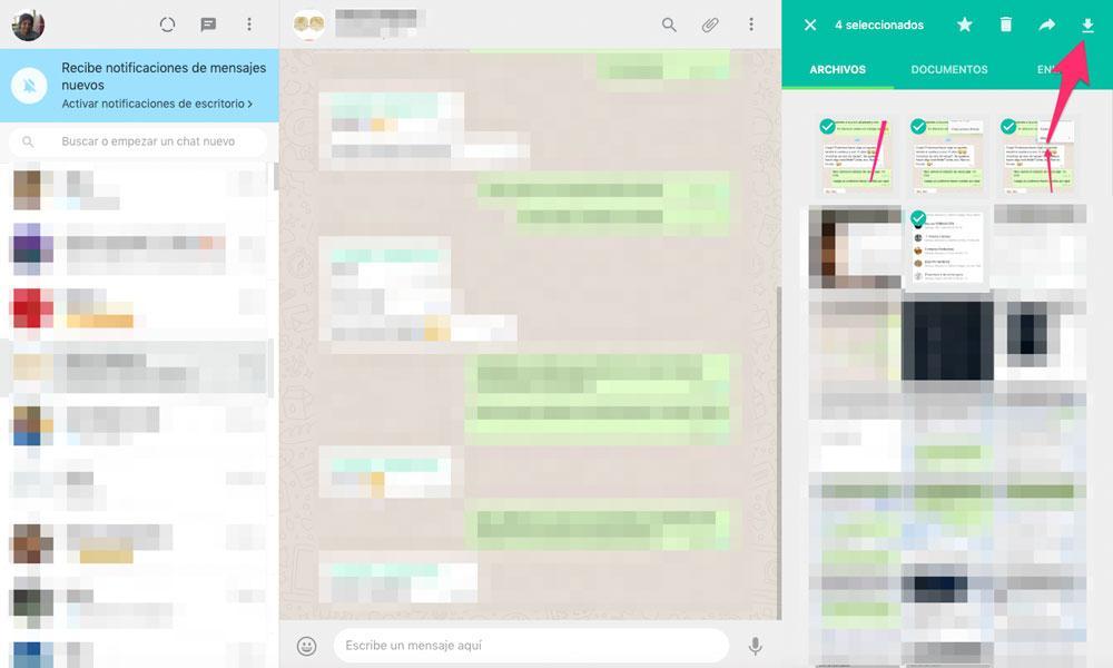 Pasar archivos de WhatsApp a PC