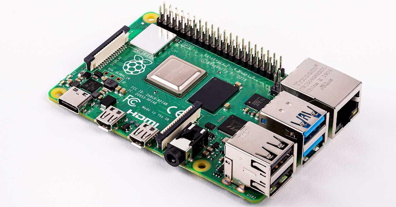 raspberry pi 4 placa