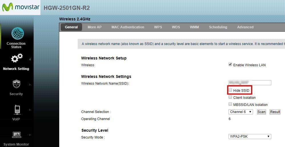Cómo Ocultar La Wifi Ssid Oculto Ajustes Avanzados Del Router