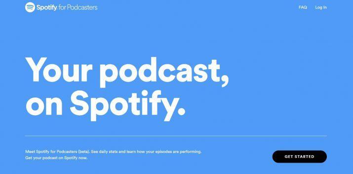 podcast a spotify