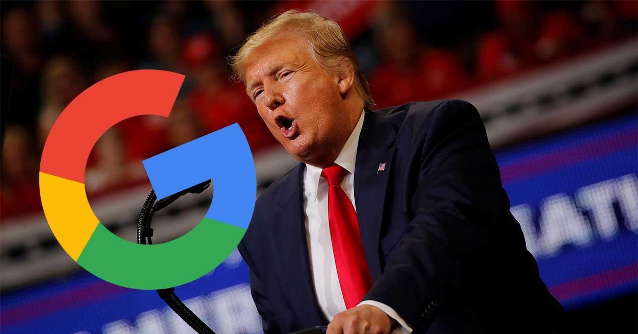 tasa google trump españa