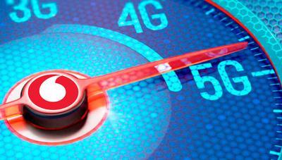 Así vuela el 5G de Vodafone en los test de velocidad