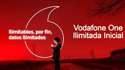 Vodafone One ilimitada Inicial, nueva tarifa más barata con fibra y datos ilimitados