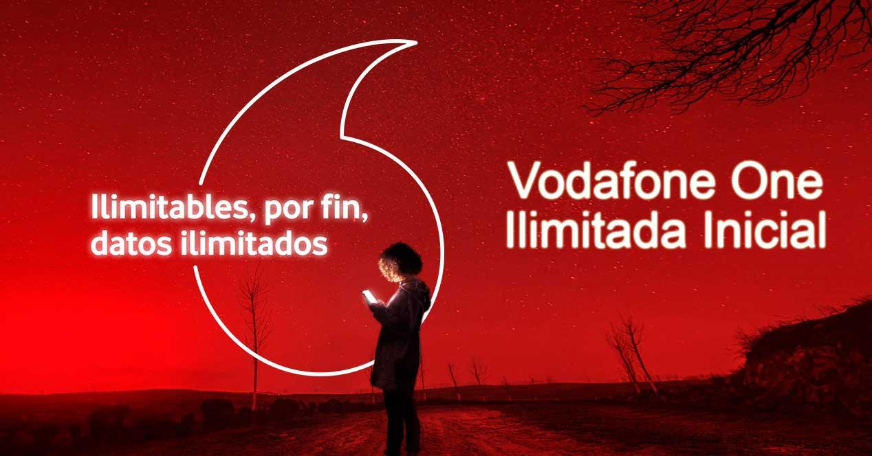 vodafone one ilimitada inicial