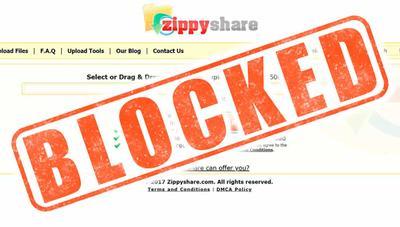 Zippyshare ya no funciona en España ¿descarga directa bloqueada?