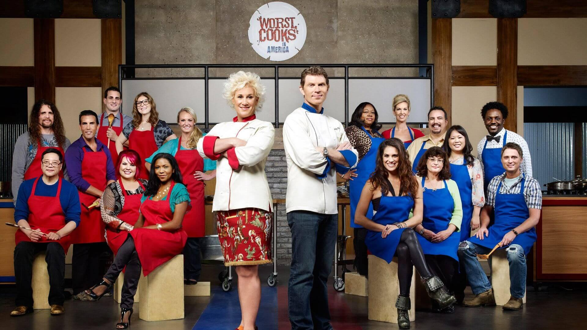 Worst Cooks in Americaen Netflix