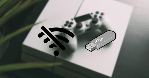 Actualizar PS4 offline