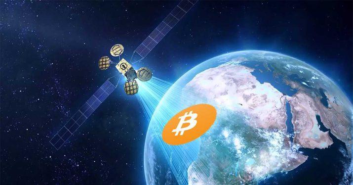 bitcoin satelite tierra