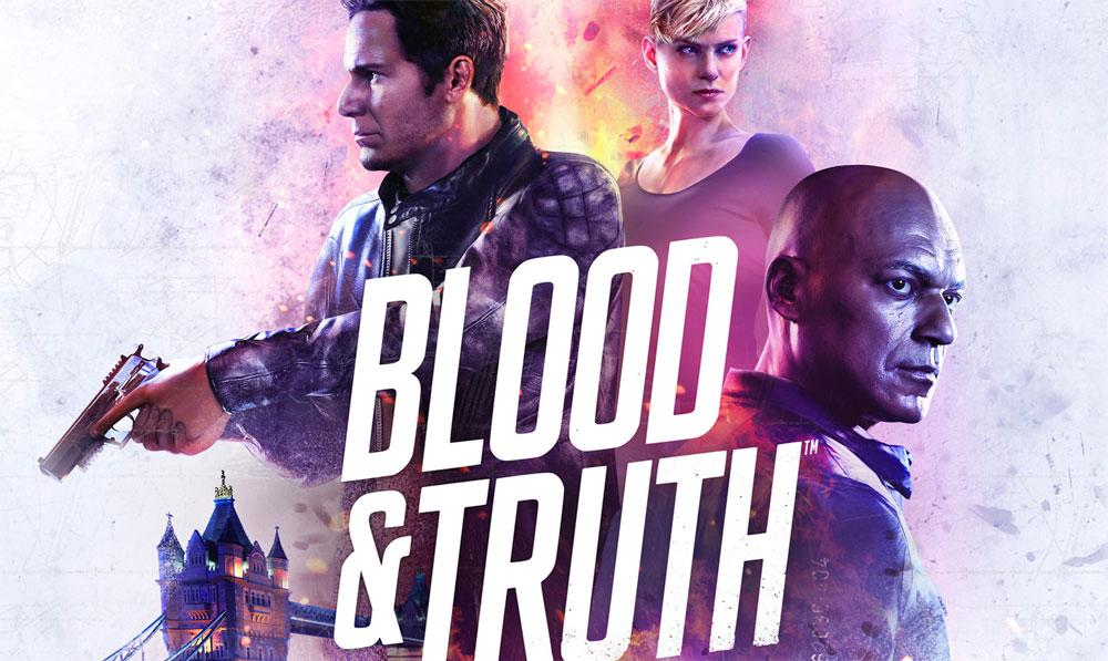 Blood and Truth para el casco PlayStation VR