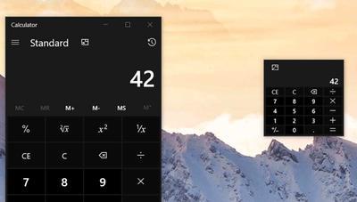 La Calculadora de Windows 10 mejorará mucho en la próxima actualización