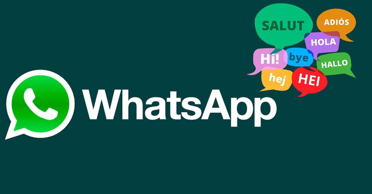 Cambiar el idioma del teclado en WhatsApp