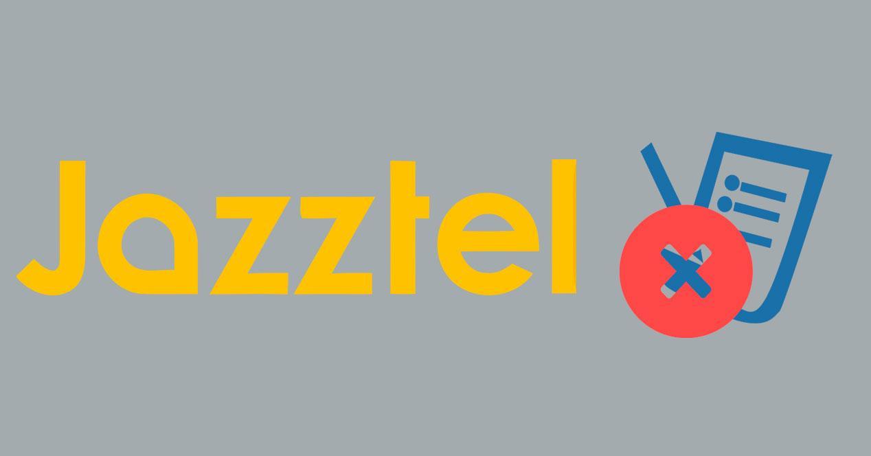 Cancelar un contrato con Jazztel