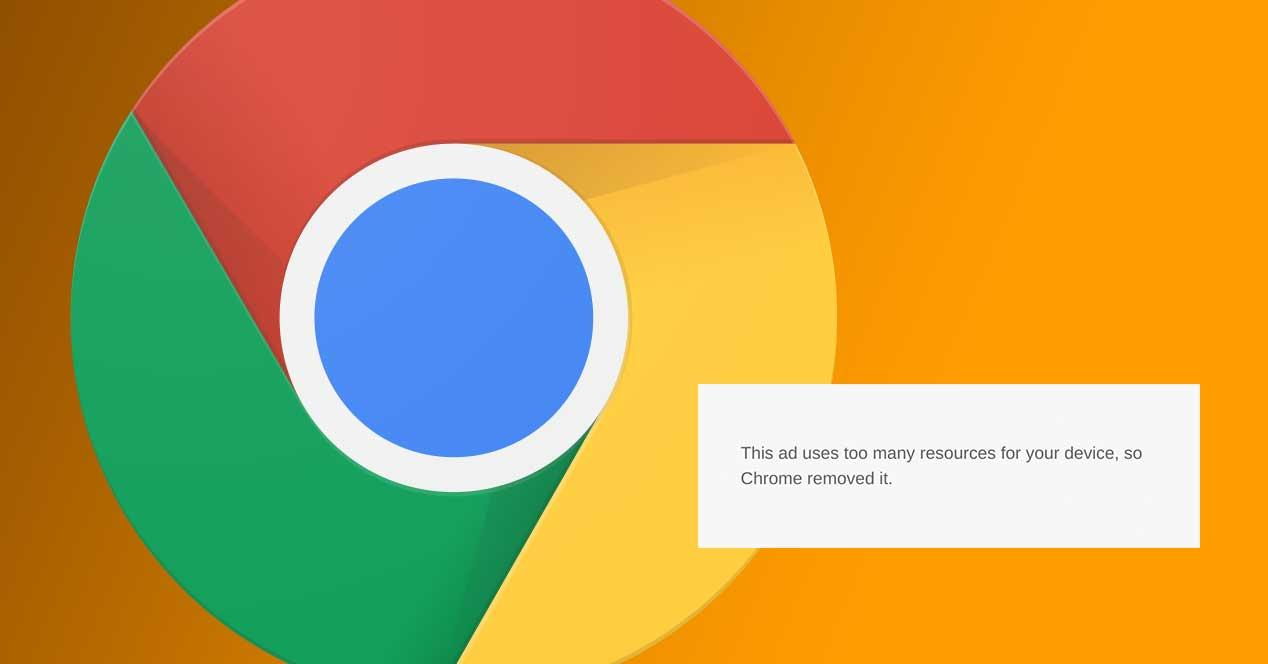 chrome bloque oanuncios pesados