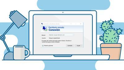 Así puedes controlar un ordenador con Windows 10 desde el tuyo sin instalar ningún programa