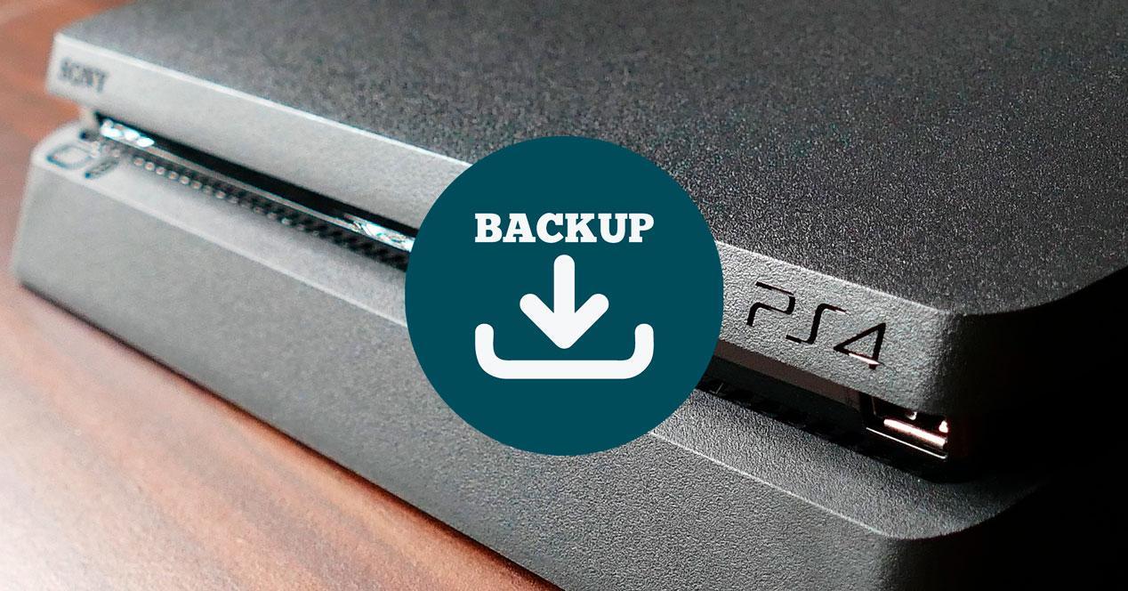 Hacer copia de seguridad de PS4