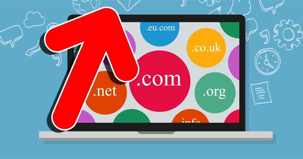 dominios .org subida precio