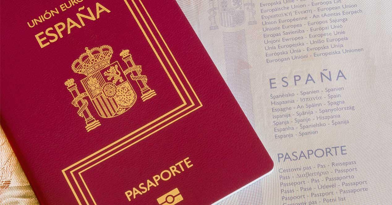 españa pasaporte
