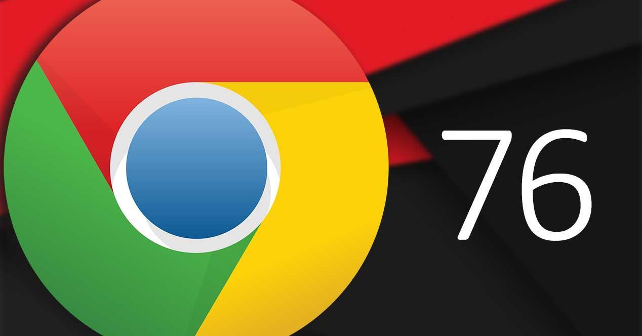 google chrome 76