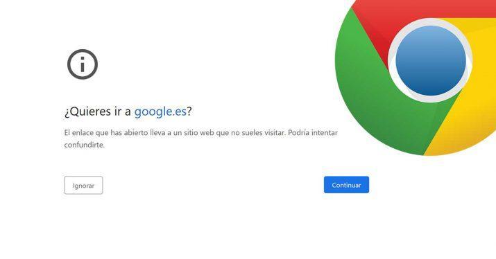 google chrome phishing webs falsas