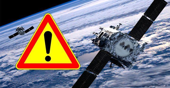 gps satelite caida