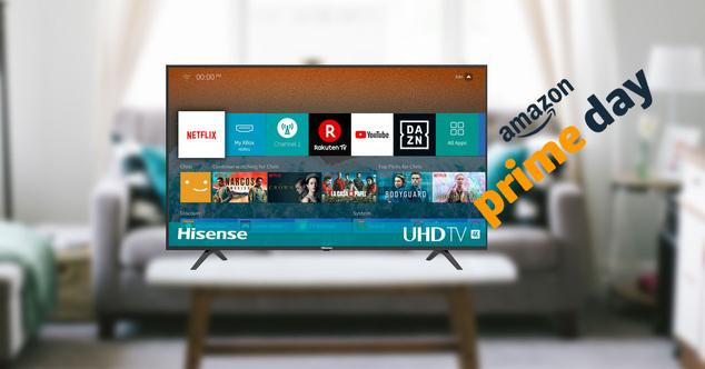 Hisense 65 pulgadas 4K en oferta por el Prime Day de Amazon por tiempo limitado