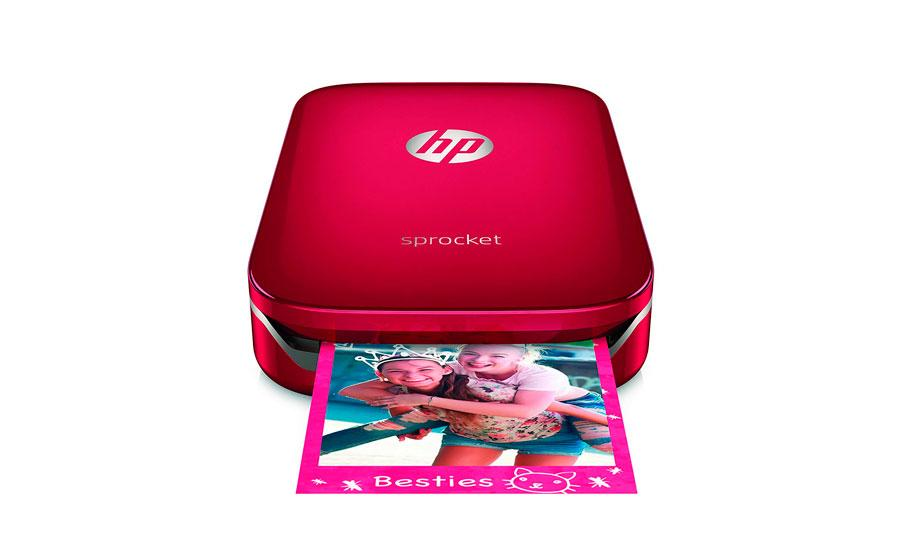 HP Sprocket en color rojo, oferta del Amazon Prime Day