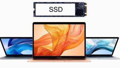 Apple pone un SSD más lento en el MacBook Air 2019 para ahorrar dinero