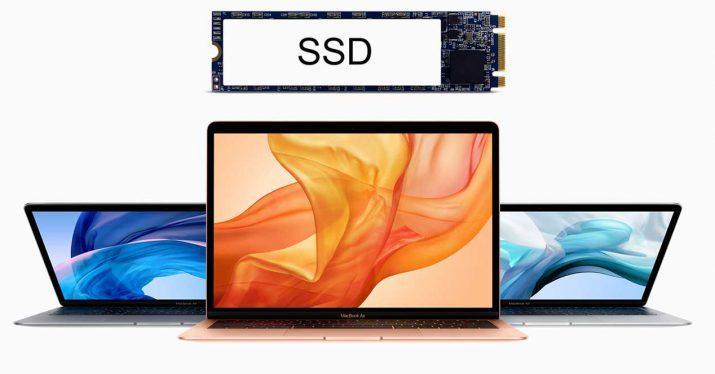 macbook air 2019 ssd lento