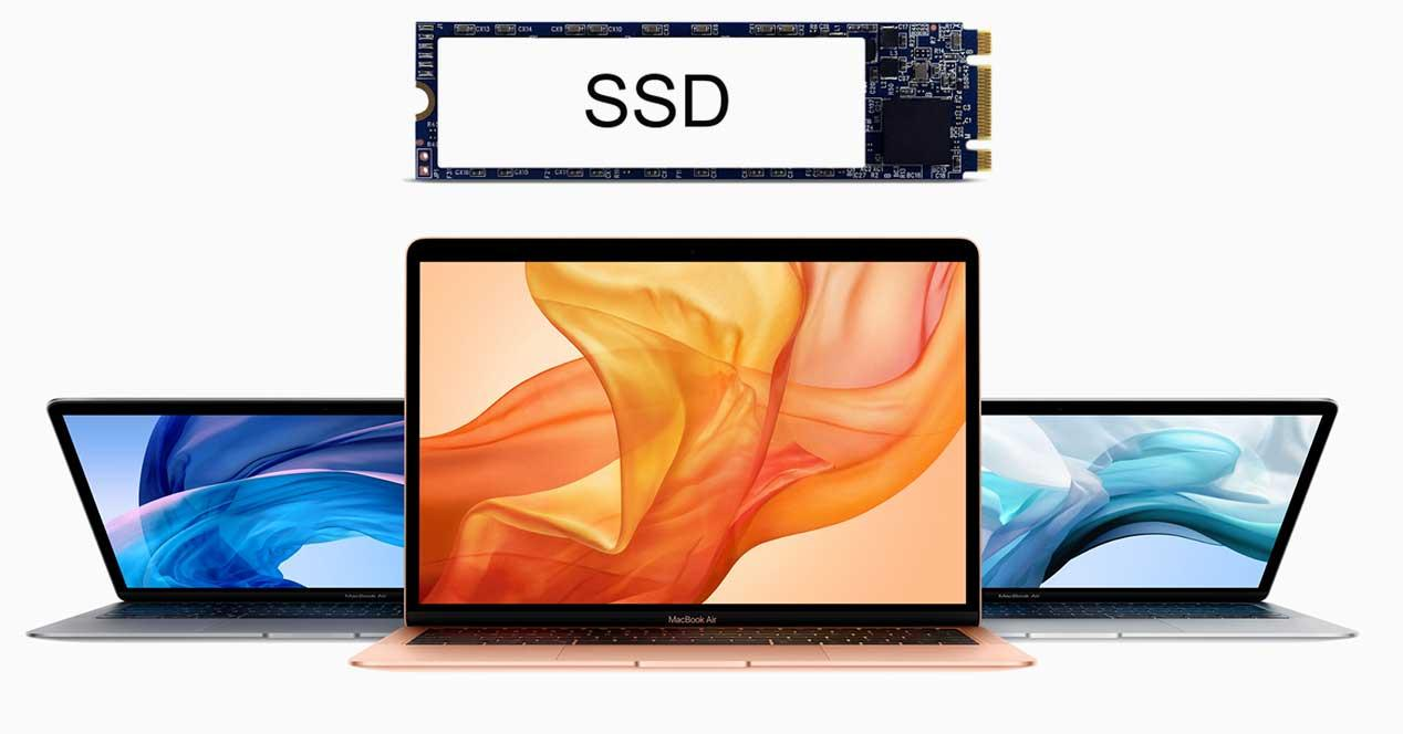 macbook air 2019 ssd lento