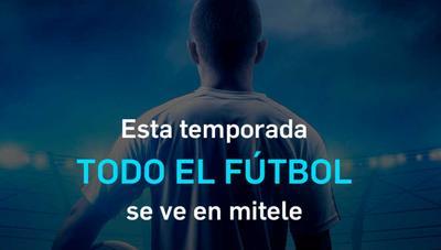 Mitele Plus también ofrecerá paquetes más baratos para ver el fútbol: desde 16,99 euros