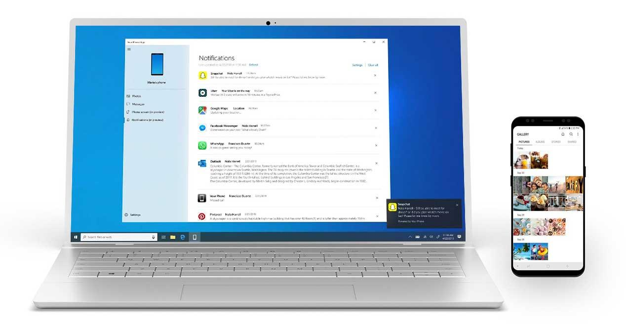 Android notifications in Windows 10 are now available with your