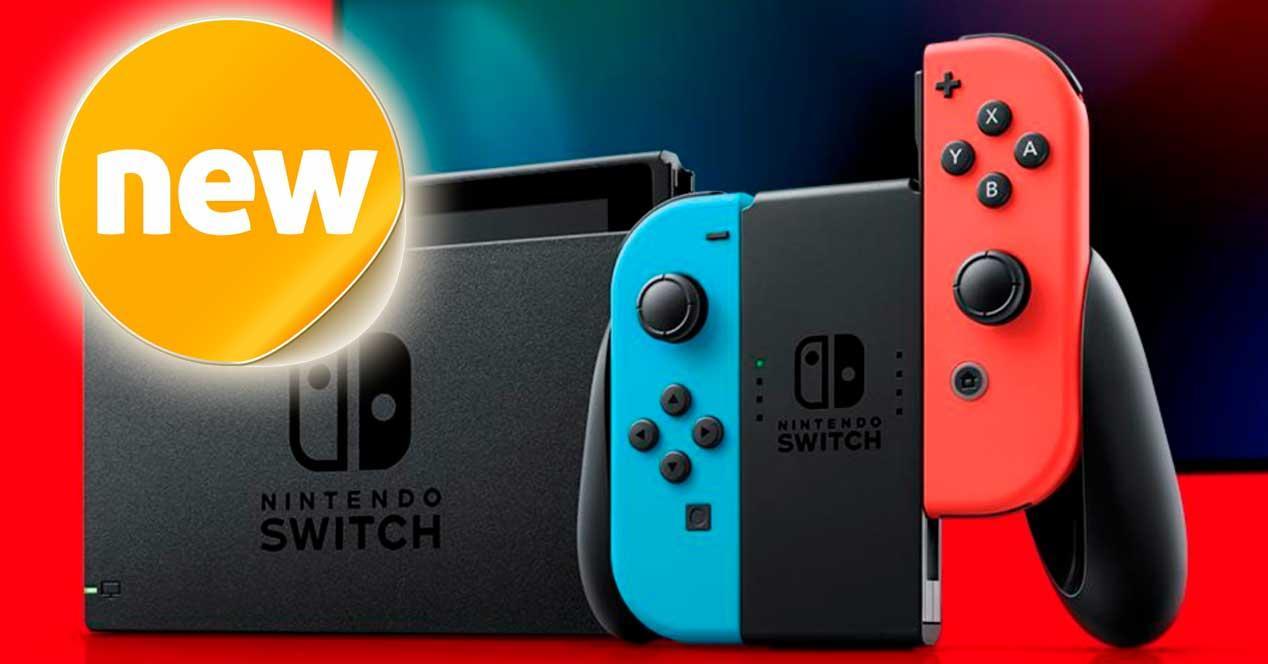 Ver noticia 'Noticia 'Llega un nuevo modelo mejorado de Nintendo Switch con más batería''