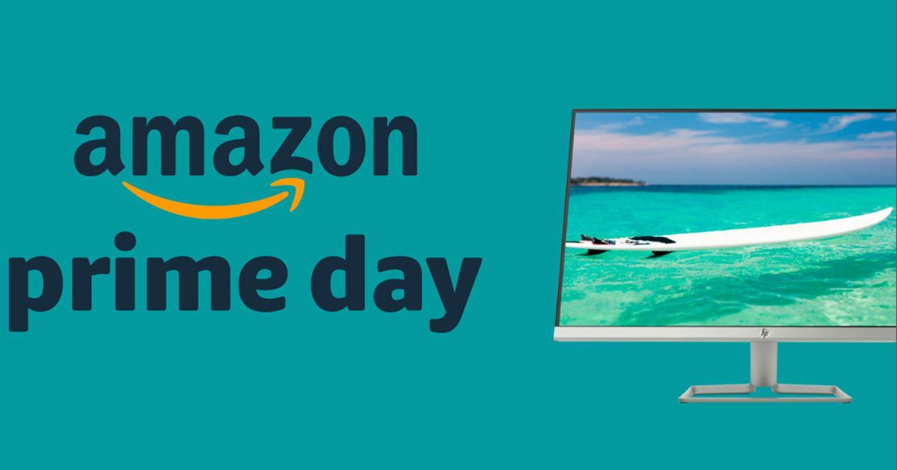 Oferta flash de Amazon Prime Day HP 27hf
