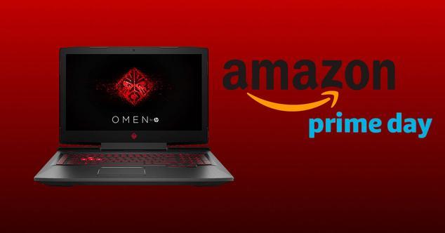 Oferta de portátil gaming de HP en el Amazon Prime Day