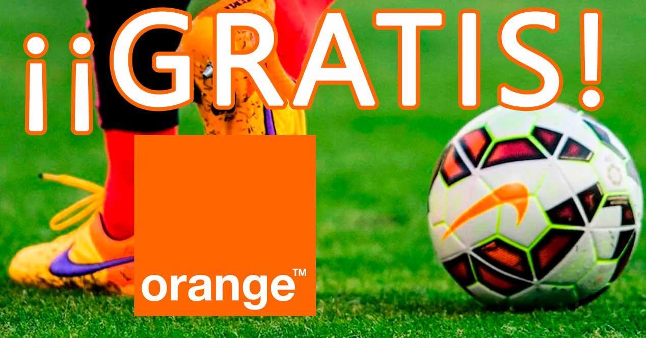 Ver noticia 'Noticia 'Orange regala todo el fútbol gratis durante toda la temporada''
