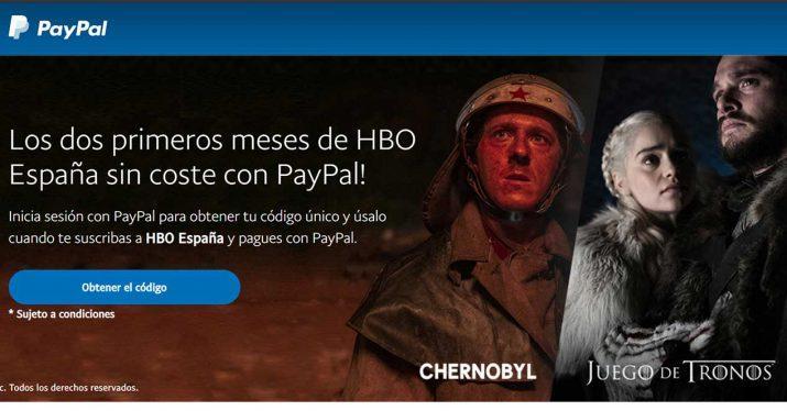 paypal hbo dos meses gratis