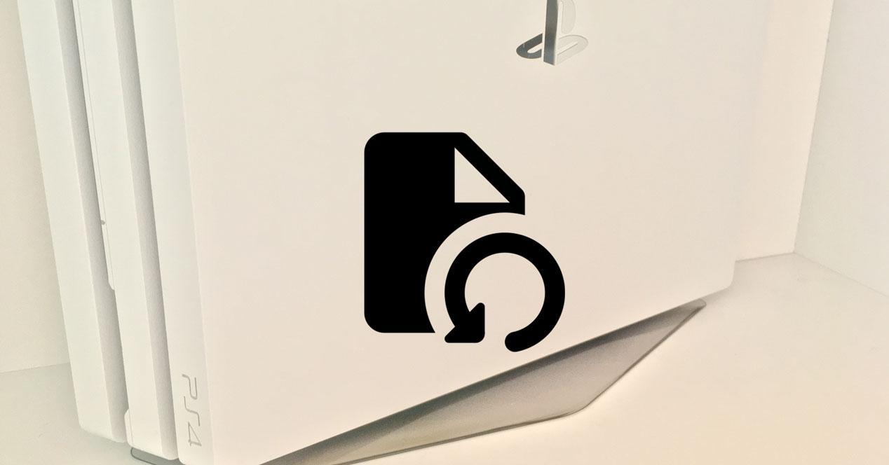 Restaurar PS4 sin conexión a Internet