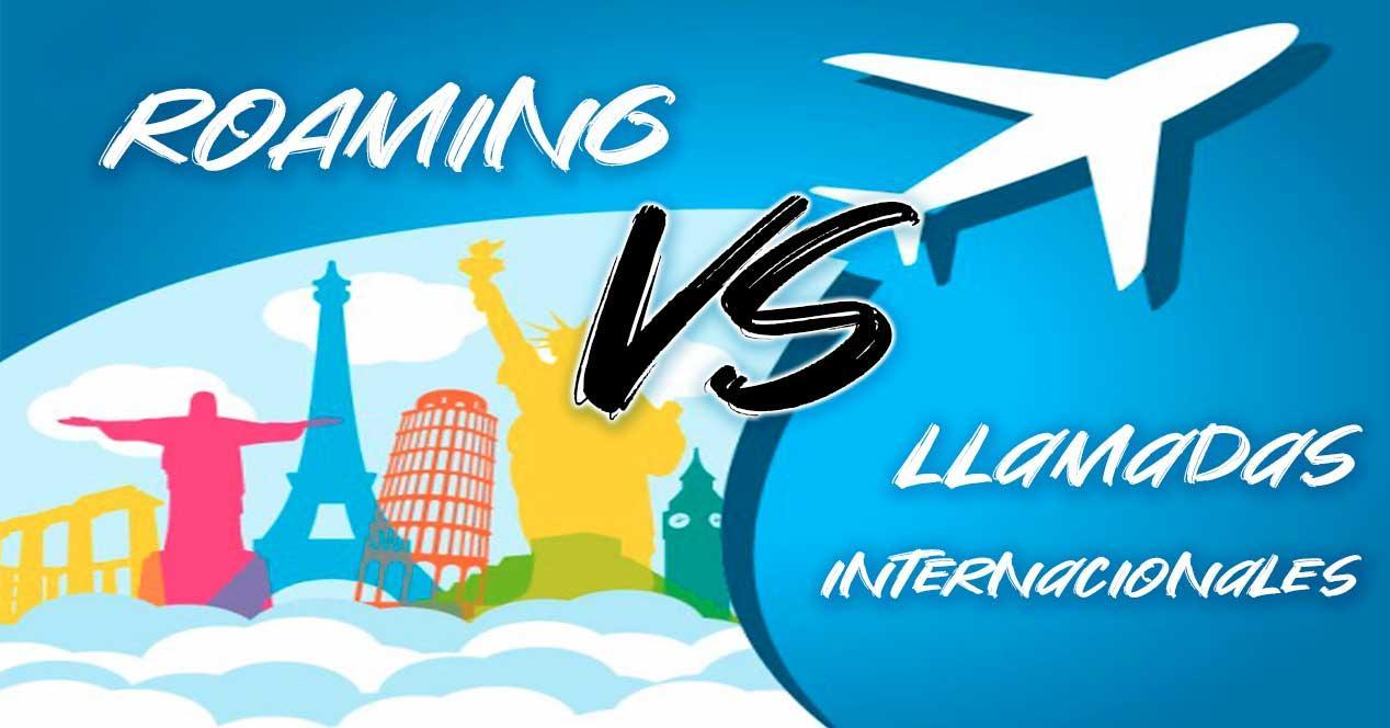 roaming vs llamadas internacionales